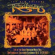 RADIATORS LIVE SAN FRANCISCO CD 1997 ALLMAN BROTHERS