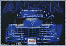 Prospectus Anson 1998 (Go) modèle voitures brochure Model Cars prospectus catalog