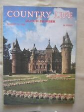 COUNTRY LIFE - AUG 23  1984 - KASTEEL DE HAAR, NEAR UTRECHT - I