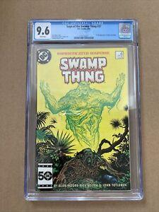 Swamp Thing #37 CGC 9.6 1985 - 1st app. John Constantine, Hellblazer