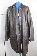 Jaeger Vintage Leather Jacket brown large