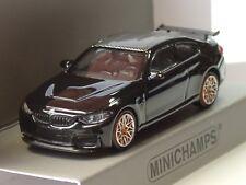 Minichamps BMW M4 GTS 2016 schwarz, orange wheels - 870 027102 - 1:87