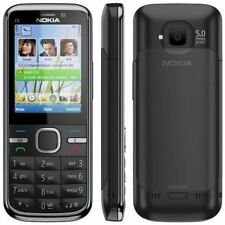 Nokia C5-00 - Black (Unlocked) Mobile Phone 3G Cheap Bar Phone - Warranty