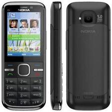 Nokia C5-00 - noir (débloqué) téléphone portable 3G bon marché bar téléphone-garantie
