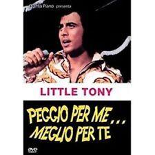 Dvd PEGGIO PER ME MEGLIO PER TE - (1967) *** Little Tony, Gianni Agus ***..NUOVO