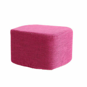 Square Stretch Ottoman Slipcover Footstools Covers - 8 Colors Available