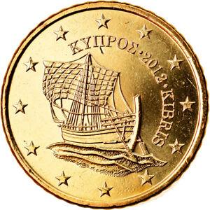 [#790455] Chypre, 50 Euro Cent, 2012, SPL, Laiton, KM:83