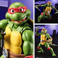 TMNT TURTLES Teenage Mutant Ninja Turtles RAPHAEL SHF Action Figur Alloy IB