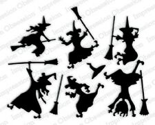 Impression Obsession SIX WITCHES DIE SET DIE457-Y Halloween