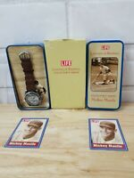 Mickey Mantle LIFE Legends Of Baseball Collector's Series Watch Yankees Mint NOS