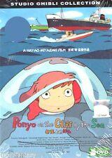 DVD Ponyo on the Cliff by the Sea Tin Box  English dud  Studio Ghibli Collection