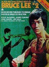 RARE 1975 BLACK BELT BEST OF BRUCE LEE DAN INOSANTO JIM KELLY KARATE MARTIAL ART
