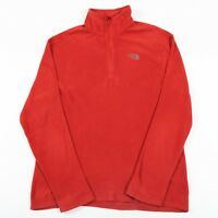 THE NORTH FACE POLARTEC Quarter Zip Fleece Pullover | Men's L | Sweatshirt 1/4