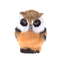 Artificial Animal Owl Toy Home Furnishing Decoration Christmas Gift For Baby JR