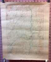 Topographical Map New York SCHUYLERVILLE QUADRANGLE Dept of the Interior USGS