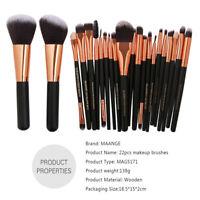 MAANGE Pro 20pcs Professional Makeup Brush set Complete  Brush Cosmetic Kit New