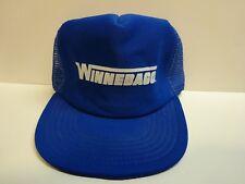 vtg WINNEBAGO Trucker Hat snapback cap mesh advertising RV camper