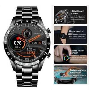 2021* Smartwatch Armband Herzfrequenz Pulsuhr Blutdruck Sportuhr Fitness Tracker