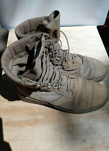 Vibram Hot Weather Army Combat Boot Coyote Size 9.5 W