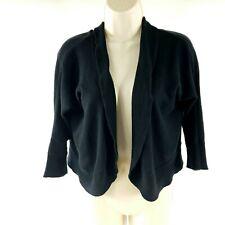 Liz Lange Maternity Target Black Shrug Short Sleeve Cropped Cardigan Sweater XL