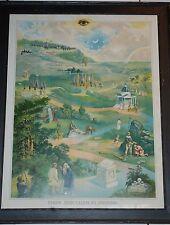 From Jerusalem to Jericho Masonic Painting