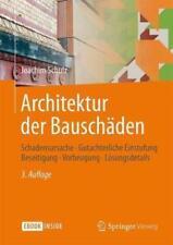 Architektur der Bauschäden von Joachim Schulz (2015, Gebundene Ausgabe)