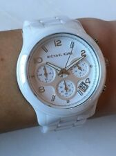 Michael Kors White Ceramic Watch MK5161 - excellent pre-owned