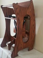 Amish Handmade 3 In 1 Chair,desk,rocking Horse. Solid wood. Smooth finish.