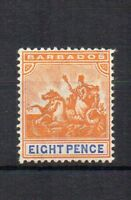 Barbados 1905 8d Seal of Colony MH