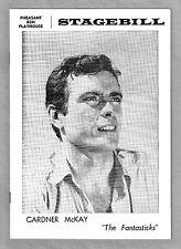"Gardner McKay ""THE FANTASTICKS"" Schmidt & Jones 1965 Chicago, Illinois Playbill"