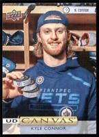 2019-20 Upper Deck UD Canvas #C48 Kyle Connor - Winnipeg Jets