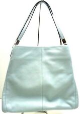 NWT COACH MADISON LEATHER SMALL PHOEBE SHOULDER BAG SILVER SEA MIST F26224