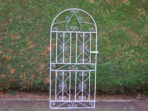 6 ft tall bow top gate fully galvanized for 3 ft opening L/h