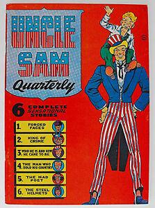 Uncle Sam Quarterly #1-1941/1974-Alan Light Reprint Edition-Will Eisner
