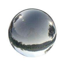 New Quartz Clear Magic Artificial Crystal Glass Healing Ball Sphere 40mm L7L1