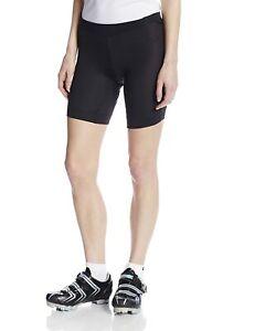 Pearl Izumi Women's Black Liner Cycling Bike Shorts With Pad Chamois (X-Small)