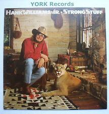 HANK WILLIAMS JR - Strong Stuff - Excellent Condition LP Record Elektra 60223-1
