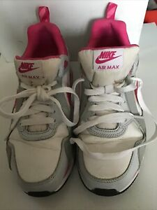 Nike Air Max Pink And White Size Uk 5 US 5.5Y