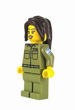 Custom LEGO® Female IDF Mini-Figure Eden