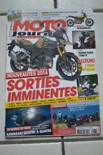 MOTO JOURNAL 2066 DUCATI Multistrada 1200 VFR HONDA YAMAHA FJR 1300 DTMX 125 FZ6