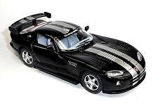 Modellauto 1:36 Dodge Viper GTR-S ca. 12,5 cm schwarz Neuware von KINSMART