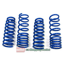 """Blue 1.25"""" Drop Manzo Race Sport Lowering Spring Kit For 04-08 Acura TL 3.2L V6"""