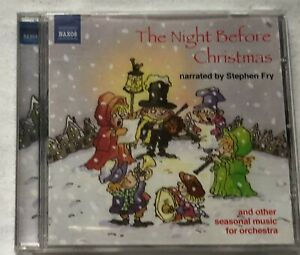 Audio Book THE NIGHT BEFORE CHRISTMAS narrated by Stephen Fry on 1 x CD - BBC