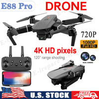 Drone 4K 1080/720P HD Camera Wide Angle Camera Wifi FPV Camera Drone Dual Cam US