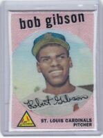 BOB GIBSON ST. LOUIS CARDINALS 2021 TOPPS BASEBALL CLOTH PATCH REPLICA CARD