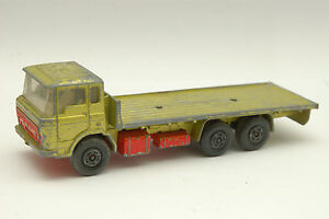 Matchbox Lesney Super Rois 1977 DAF K-13 Construction Transporter Vert Et Rouge
