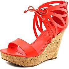 Zip Leather Platforms & Wedges Heels for Women