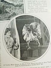 New listing Mar 1929 Magazine Page #A217- Science Proves Monsters Are Inefficient.3Pgs