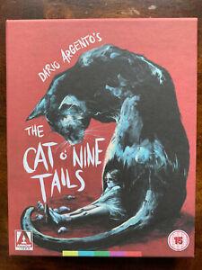 The Cat O'Nine Tails Plumage Blu-ray Box Set Ltd Ed Horror Movie Arrow Video