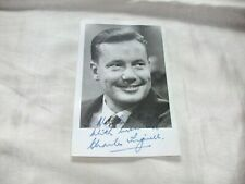 More details for charles tingwell signed photograph 1960 s neighbours thunderbirds autograph book